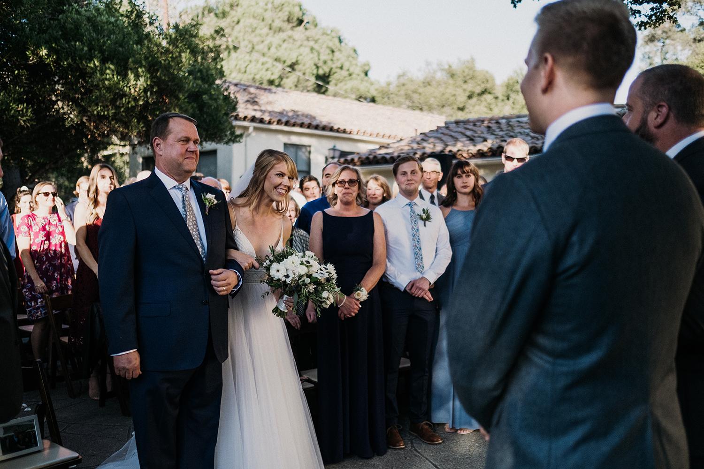 Santa Barbara Women's Club Wedding