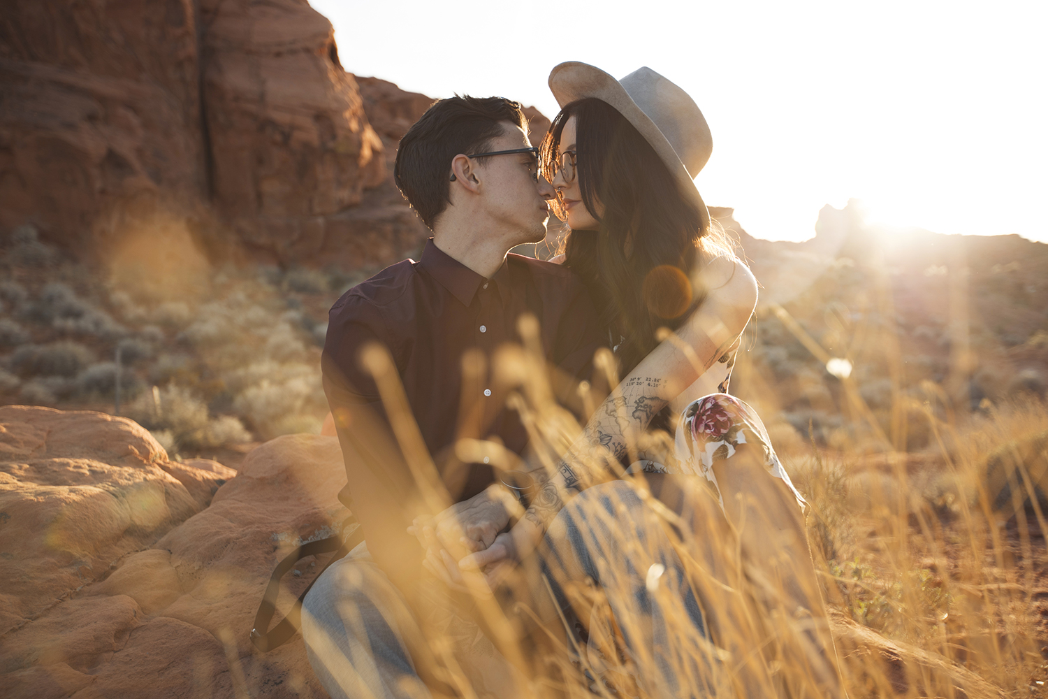 engagement shoot at valley of fire nevada