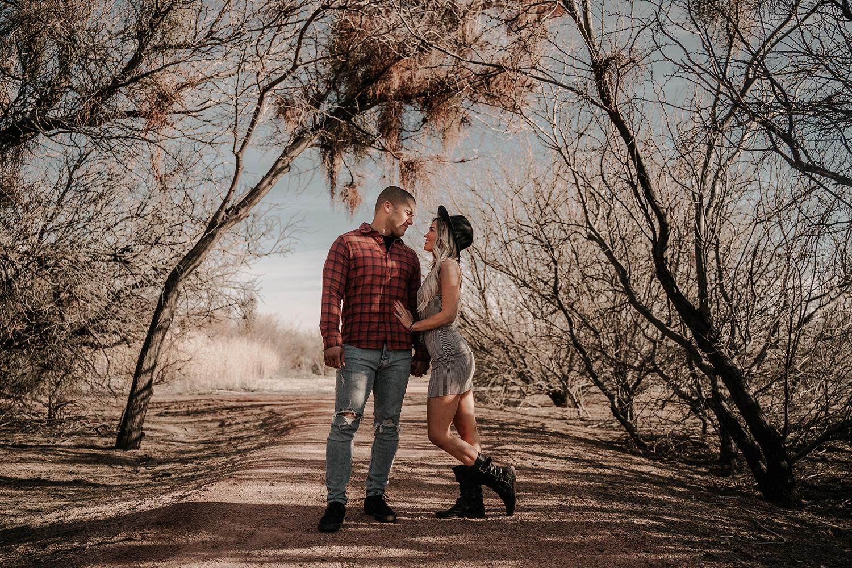 wetland park couple session