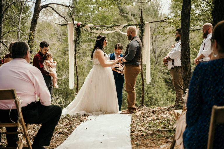Northern Michigan Forested Wedding