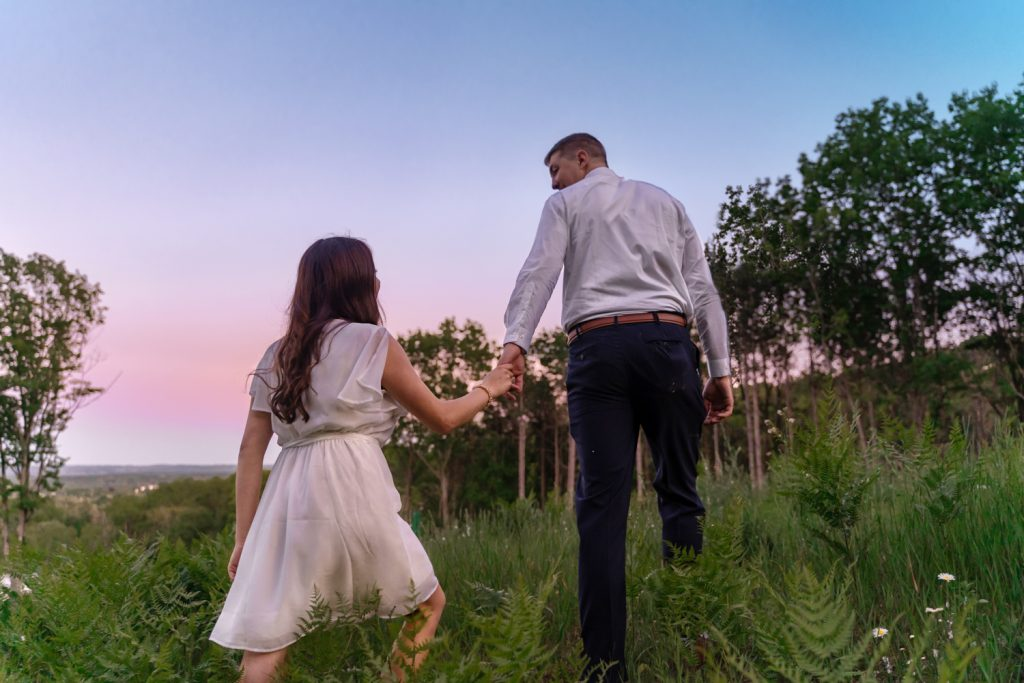 Engagement Session at Hickory Hills