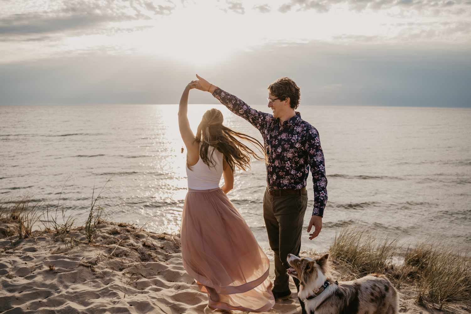 Manistee Elopement Photographer
