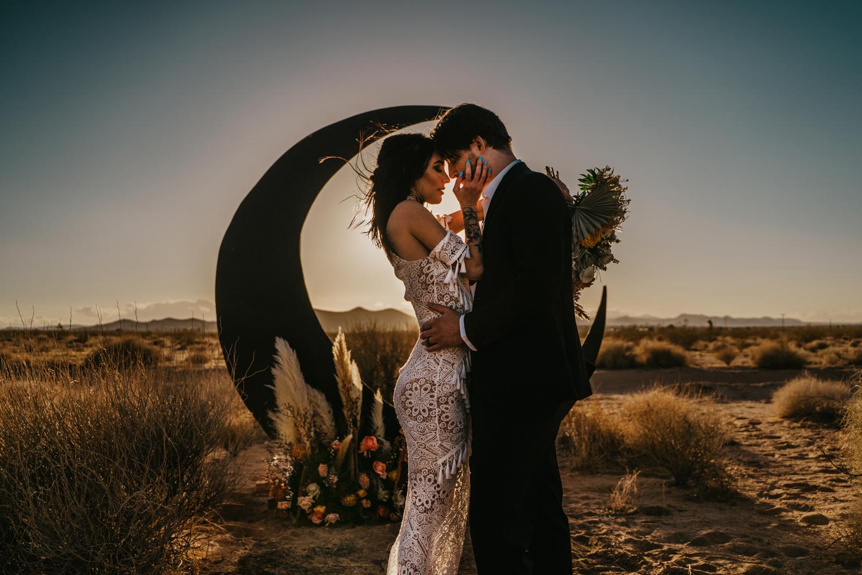 Desert elopement photographer