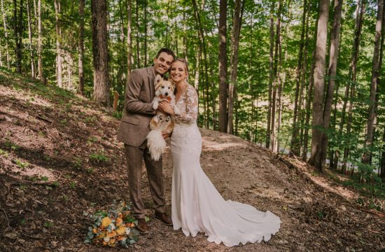 crystal mountain wedding at the Legacy Art Park