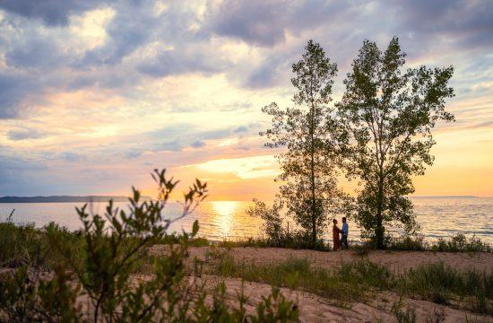 Northern Michigan engagement photographer